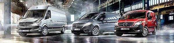 Citan, Vito, Sprinter – die Transporter von Mercedes-Benz