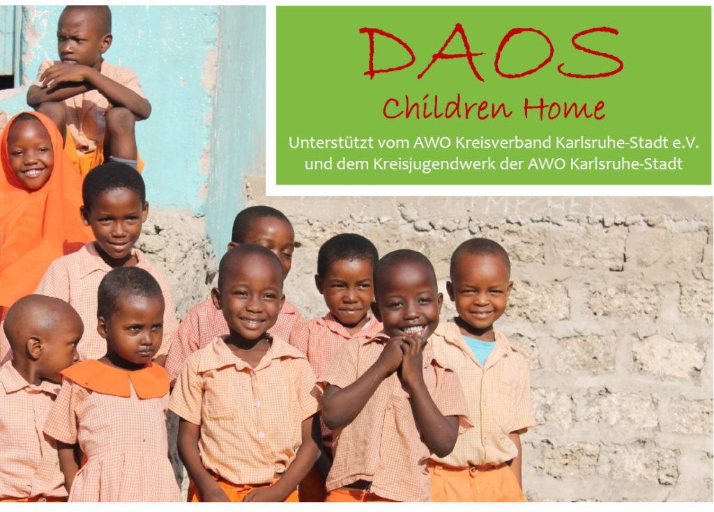 Ein Fotomotiv der CSR-Aktion, die Fairplay Service unterstützte: Glückliche Kinder vom dem DAOS Children Home.